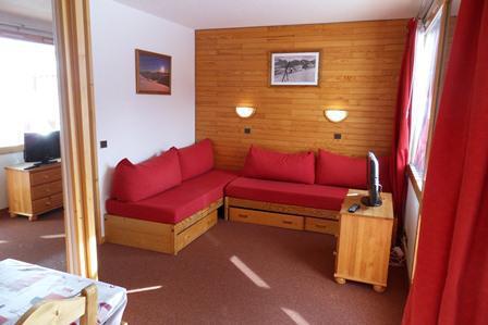 Аренда на лыжном курорте Квартира студия для 4 чел. (17) - La Résidence Aigue-Marine - La Plagne
