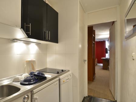 Wynajem na narty Studio kabina 4 osoby (N37) - La Résidence Aime 2000 Chamois - La Plagne - Aneks kuchenny
