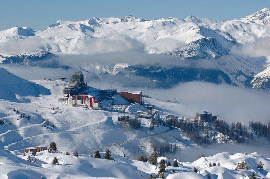 Wynajem na narty La Résidence Aime 2000 le Zénith - La Plagne - Zima na zewnątrz