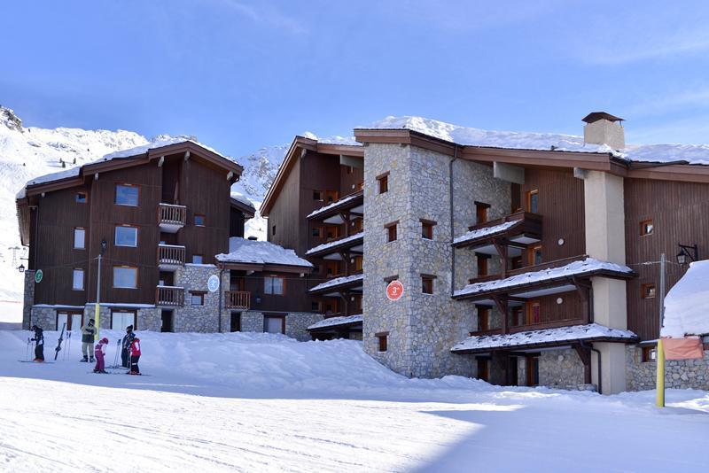 Wakacje w górach La Résidence Améthyste - La Plagne - Zima na zewnątrz