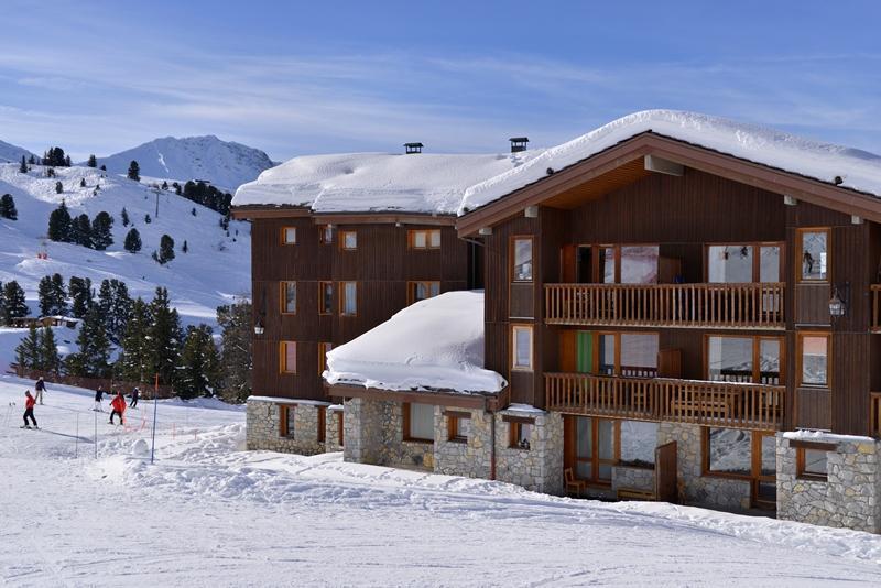 Аренда на лыжном курорте La Résidence Améthyste - La Plagne - зимой под открытым небом