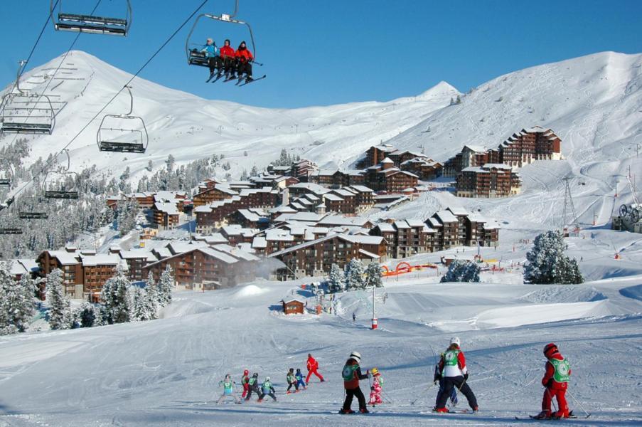 Аренда на лыжном курорте La Résidence Andromède - La Plagne - зимой под открытым небом