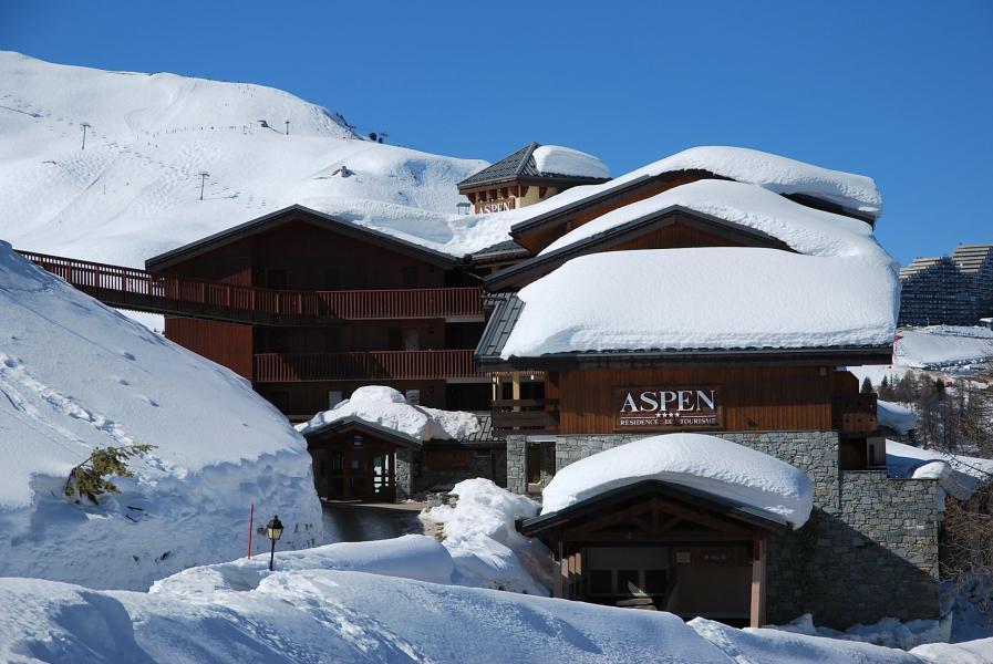 Vacances en montagne Appartement 3 pièces 7 personnes (302) - La Résidence Aspen - La Plagne - Extérieur hiver