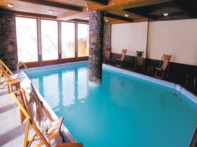 Location au ski Appartement 3 pièces 7 personnes (302) - La Résidence Aspen - La Plagne - Piscine