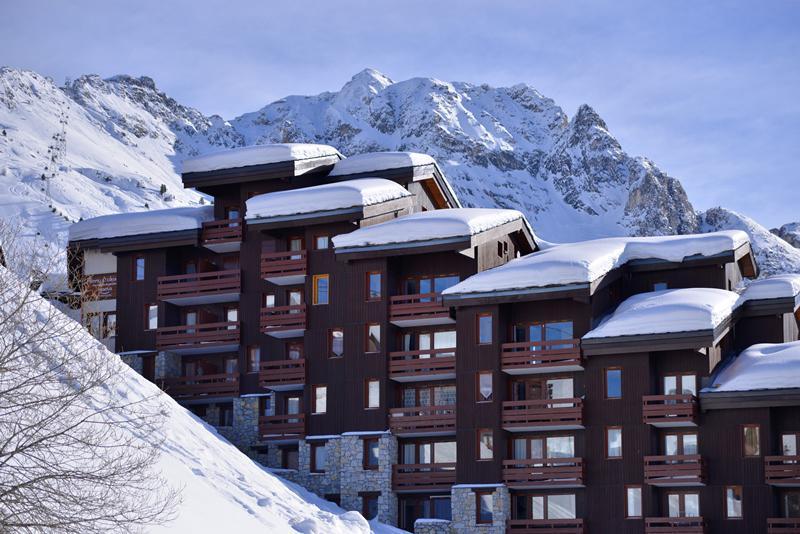 Wakacje w górach La Résidence Béryl - La Plagne - Zima na zewnątrz