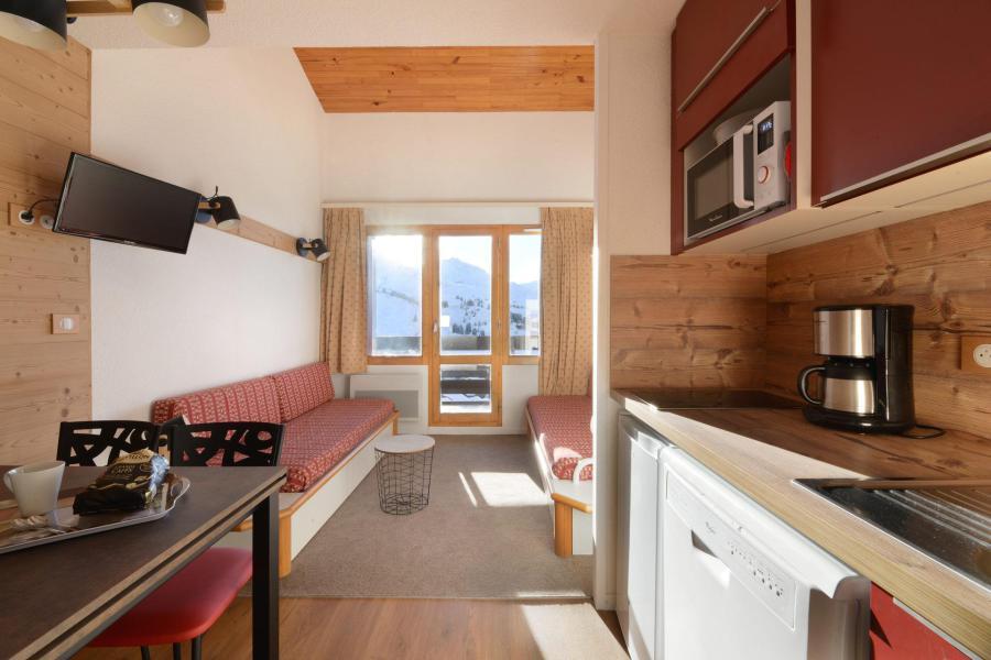 Аренда на лыжном курорте Апартаменты 2 комнат 5 чел. (503) - La Résidence Callisto - La Plagne