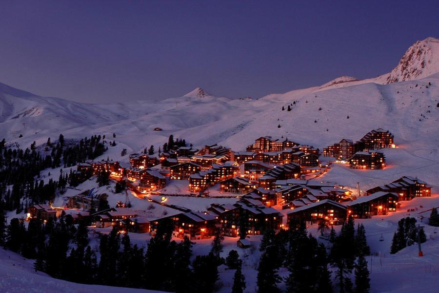 Аренда на лыжном курорте La Résidence Callisto - La Plagne - зимой под открытым небом