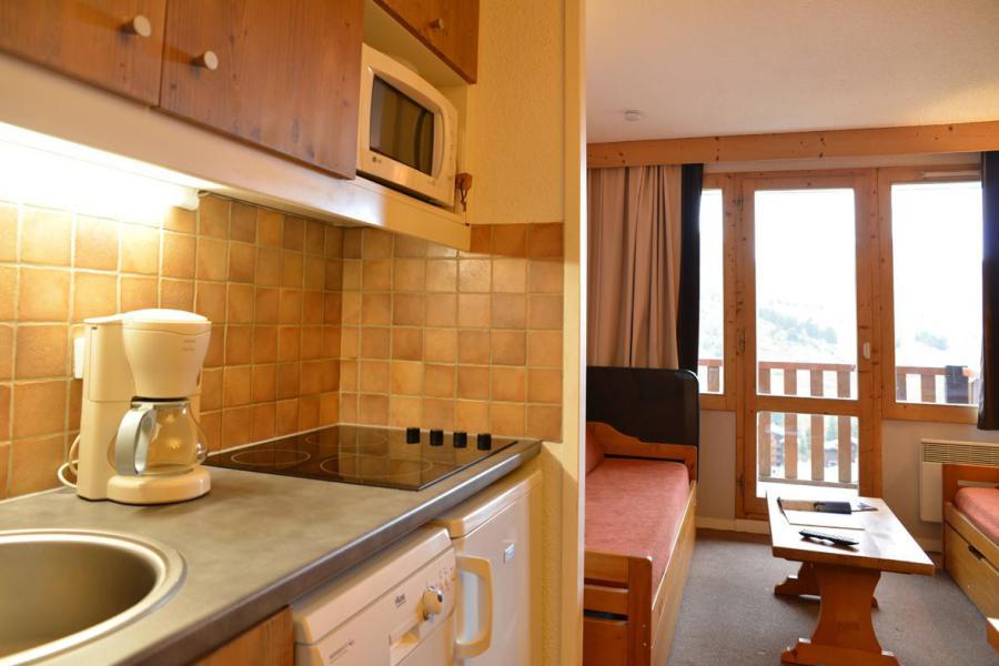 Аренда на лыжном курорте Квартира студия кабина для 4 чел. (405) - La Résidence Callisto - La Plagne - Небольш&