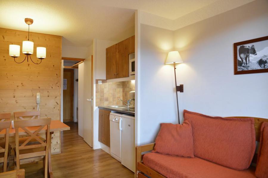 Аренда на лыжном курорте Квартира студия кабина для 4 чел. (405) - La Résidence Callisto - La Plagne - Салон