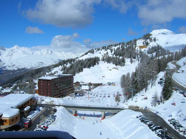 Location au ski Studio 2 personnes (801) - La Résidence France - La Plagne - Extérieur hiver