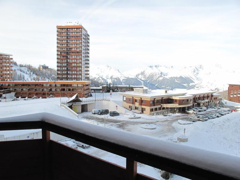 Location au ski Studio 2 personnes (307) - La Résidence France - La Plagne - Extérieur hiver