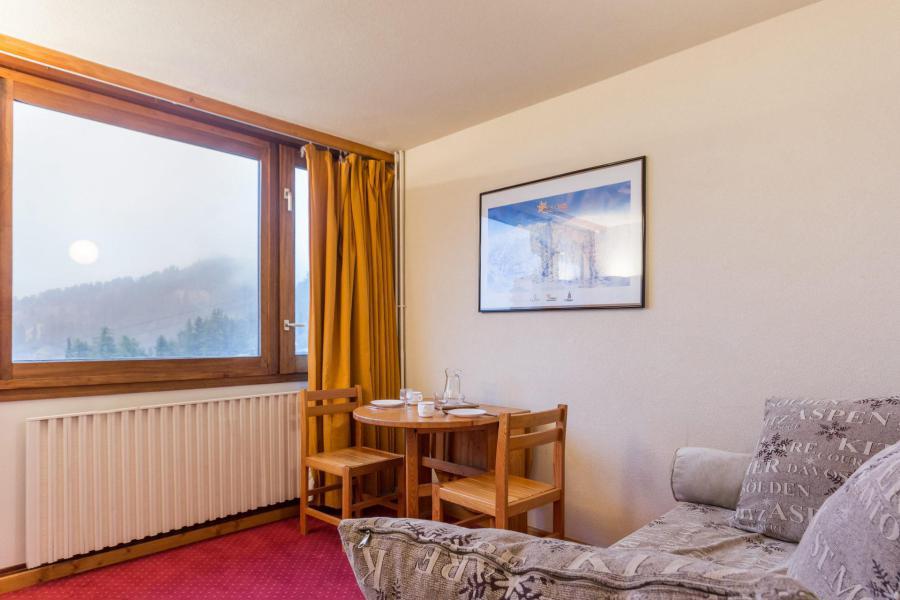 Location au ski Studio 2 personnes (813) - La Résidence France - La Plagne - Séjour