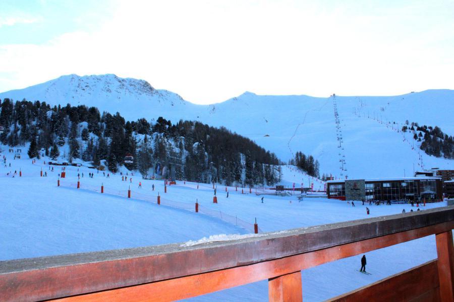 Location au ski Studio 4 personnes (324) - La Résidence France - La Plagne - Balcon
