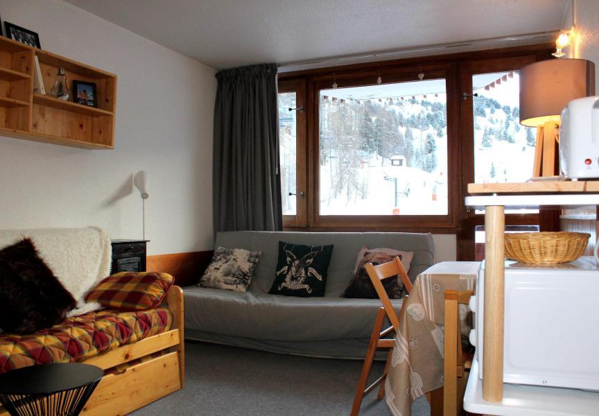 Location au ski Studio 4 personnes (324) - La Résidence France - La Plagne - Banquette-lit