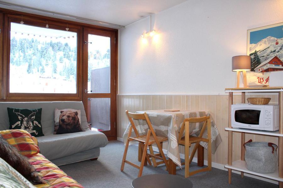 Location au ski Studio 4 personnes (324) - La Résidence France - La Plagne - Séjour