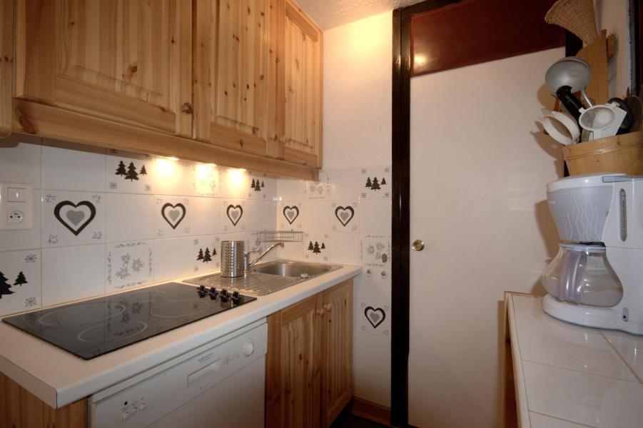 Wynajem na narty Apartament 3 pokojowy 6 osób (02) - La Résidence le Mont Blanc - La Plagne - Kuchnia