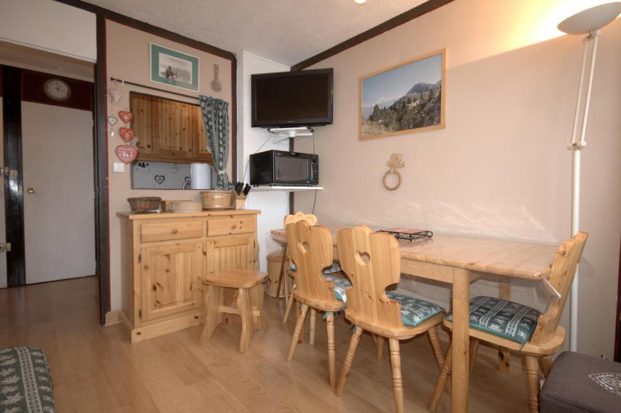 Wynajem na narty Apartament 3 pokojowy 6 osób (02) - La Résidence le Mont Blanc - La Plagne - Stołem