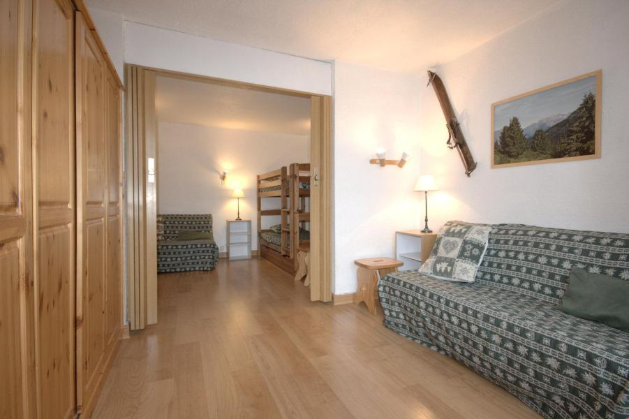 Wynajem na narty Apartament 3 pokojowy 6 osób (02) - La Résidence le Mont Blanc - La Plagne - Tapczanem