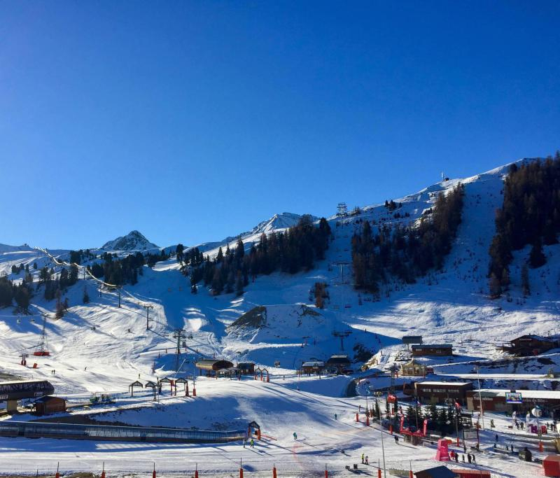 Holiday in mountain resort Studio 4 people (629) - La Résidence les Glaciers - La Plagne - Winter outside