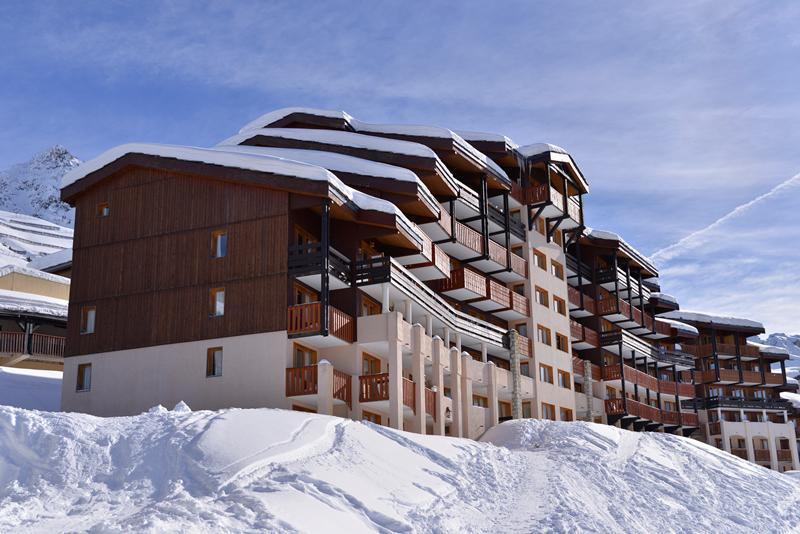 Аренда на лыжном курорте La Résidence Licorne - La Plagne - зимой под открытым небом