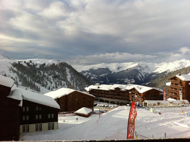 Аренда на лыжном курорте Квартира студия со спальней для 4 чел. (419) - La Résidence Licorne - La Plagne - зимой под открытым небом