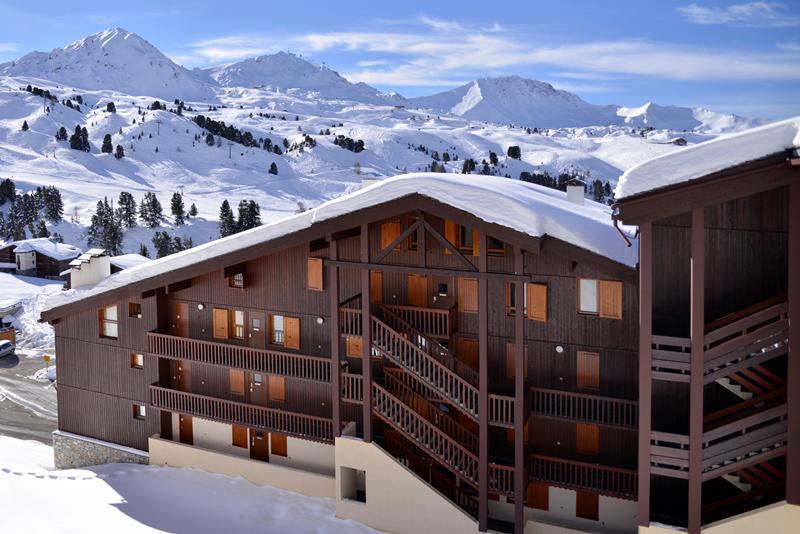 Location au ski La Résidence Phoenix - La Plagne - Extérieur hiver