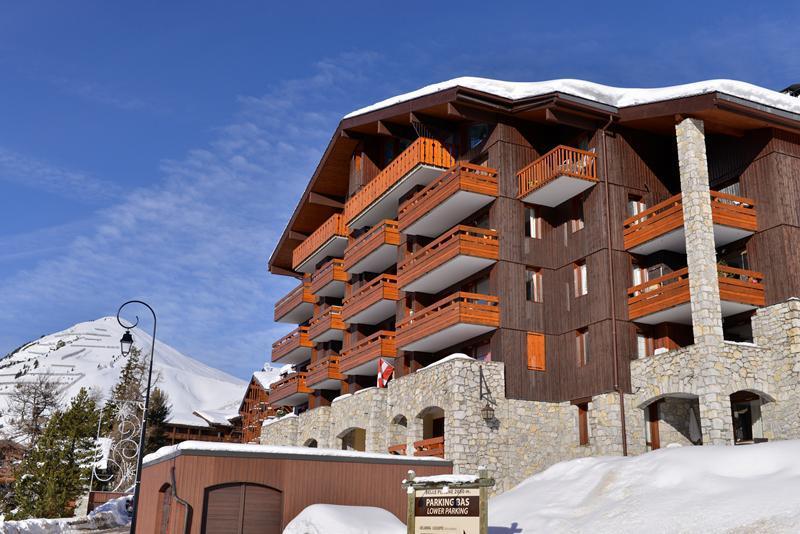 Аренда на лыжном курорте La Résidence Phoenix - La Plagne - зимой под открытым небом