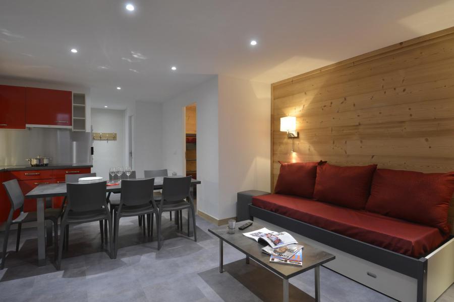 Аренда на лыжном курорте Апартаменты 4 комнат 8 чел. (703) - La Résidence St Jacques - La Plagne - Сиденье банкетка