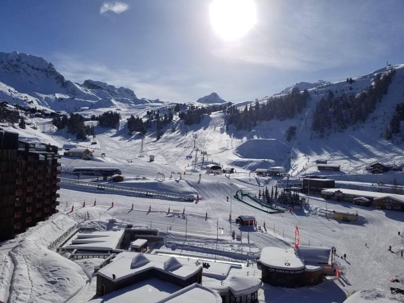 Аренда на лыжном курорте La Résidence St Jacques - La Plagne - зимой под открытым небом
