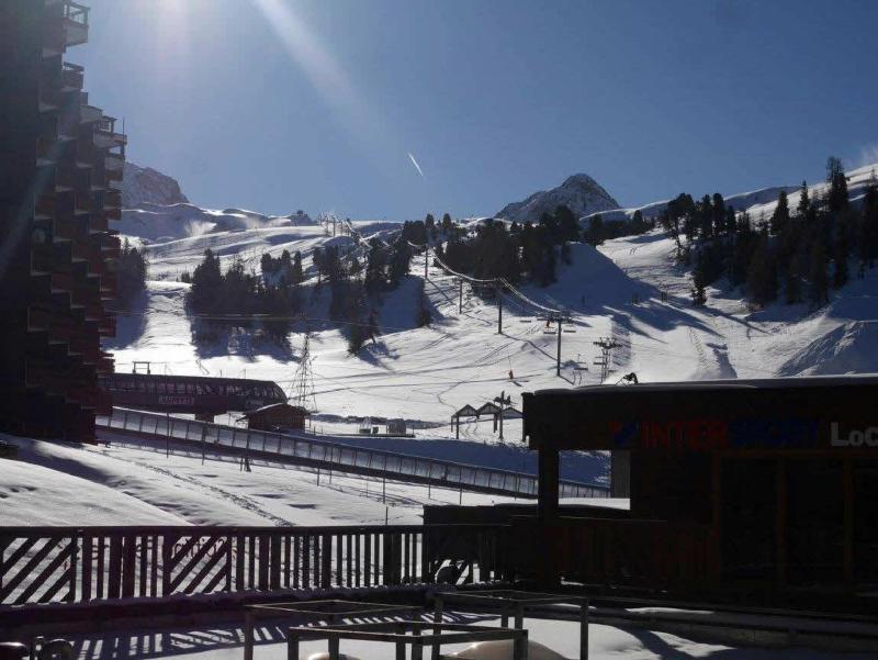 Holiday in mountain resort Studio 4 people (8) - La Résidence St Jacques - La Plagne - Winter outside