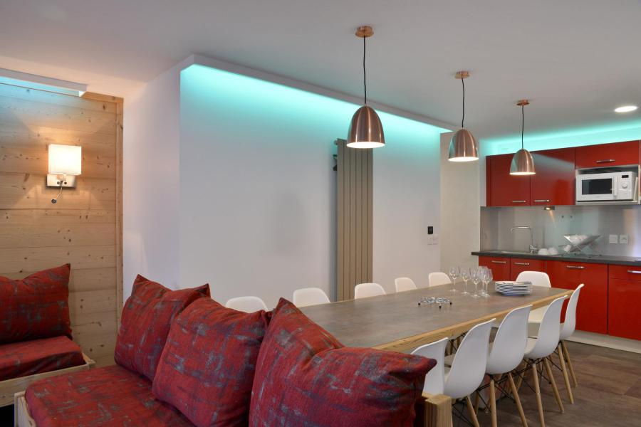 Аренда на лыжном курорте Апартаменты 5 комнат 11 чел. (417) - La Résidence St Jacques - La Plagne - Салон