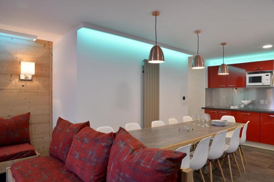 Аренда на лыжном курорте Апартаменты 5 комнат 11 чел. (417) - La Résidence St Jacques - La Plagne - Стол