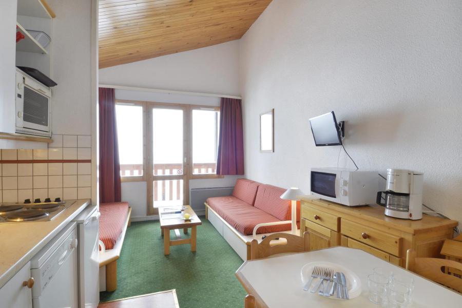 Аренда на лыжном курорте Апартаменты 2 комнат 6 чел. (523) - La Résidence Themis - La Plagne