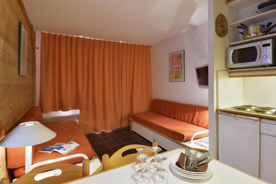 Аренда на лыжном курорте Апартаменты 2 комнат 5 чел. (05) - La Résidence Themis - La Plagne