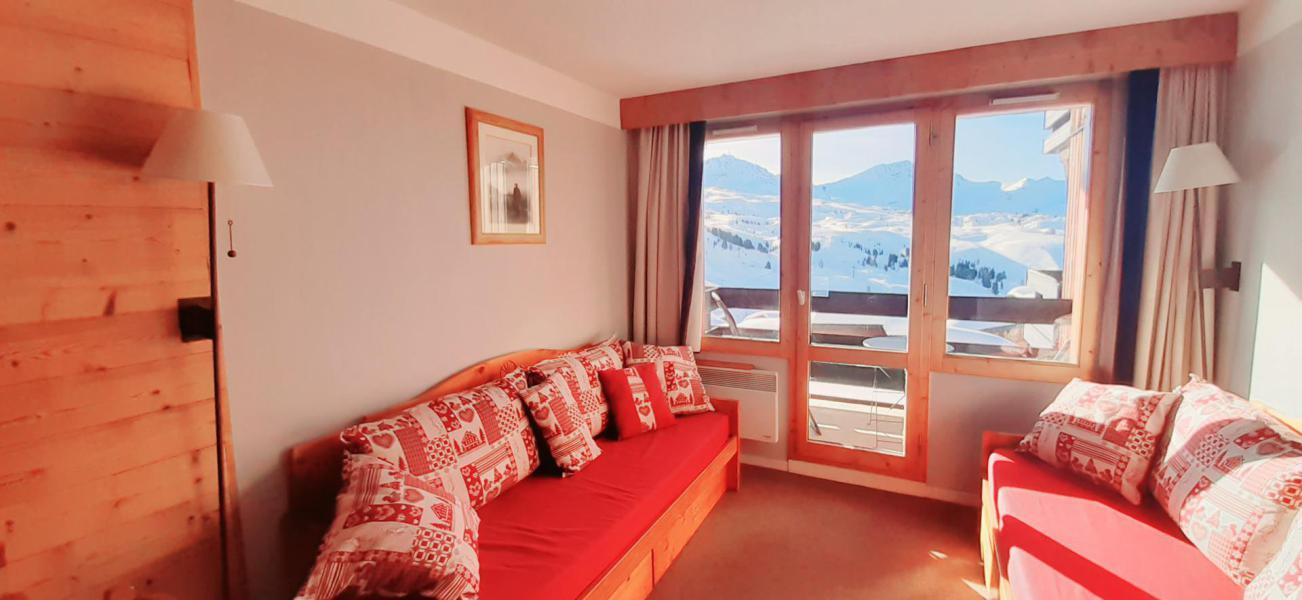 Аренда на лыжном курорте Квартира студия со спальней для 4 чел. (313) - La Résidence Themis - La Plagne