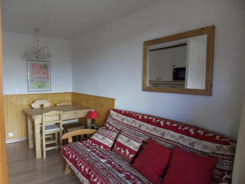 Аренда на лыжном курорте Квартира студия со спальней для 4 чел. (107) - La Résidence Themis - La Plagne - Салон