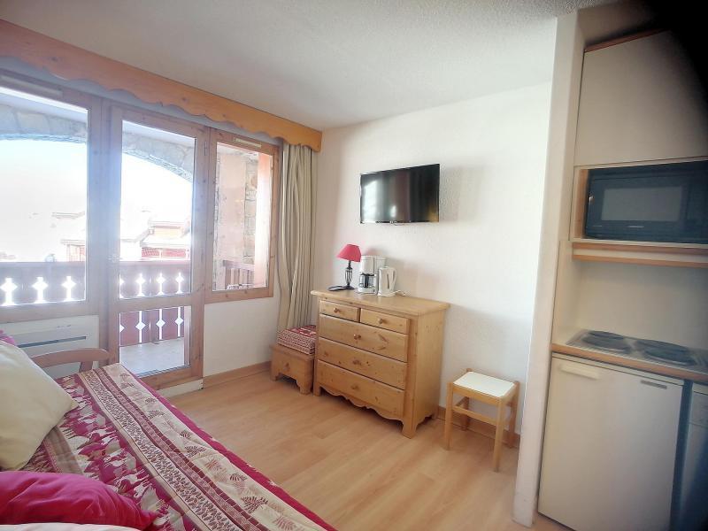 Аренда на лыжном курорте Квартира студия со спальней для 4 чел. (107) - La Résidence Themis - La Plagne - Диван кровать