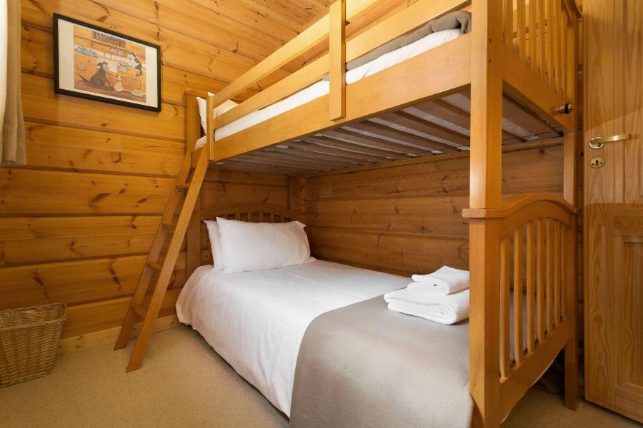 Ski verhuur Les Chalets de Crête Côte Village - La Plagne - Tussenverdieping 1 persoonsbed