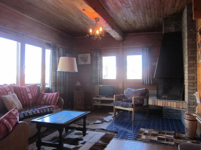 Rent in ski resort 4 room chalet 7 people (8) - Les Chalets de la Forêt - La Plagne - Bench seat