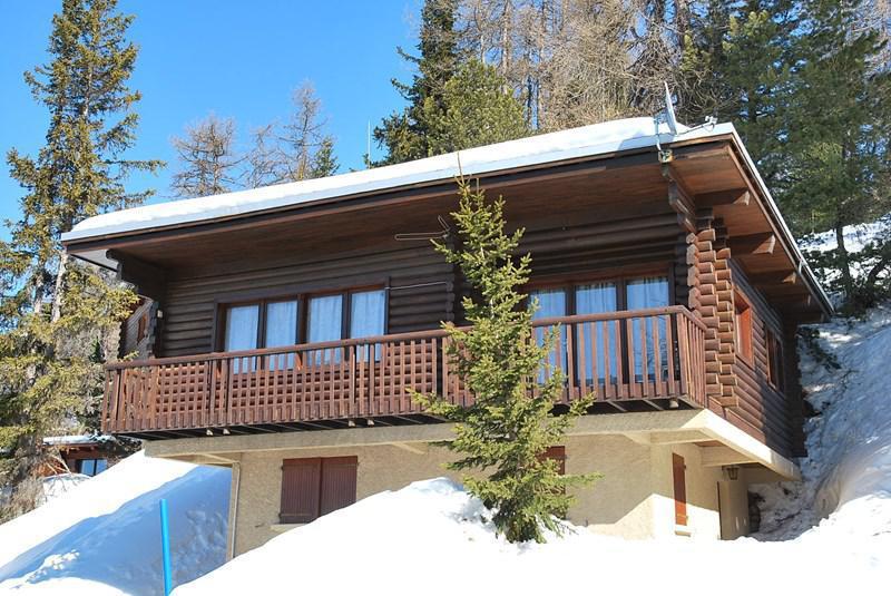 Vacances en montagne Chalet 4 pièces 7 personnes (8) - Les Chalets de la Forêt - La Plagne - Extérieur hiver