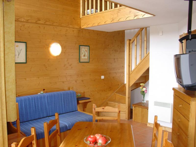 Alquiler al esquí Les Lodges des Alpages - La Plagne - Estancia
