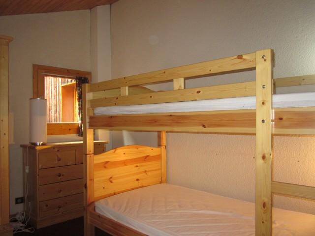 Ski verhuur Appartement duplex 2 kamers 6 personen (34) - Résidence Belvédère - La Plagne - Stapelbedden