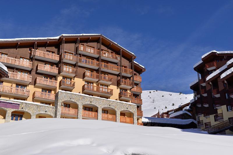 Аренда на лыжном курорте Résidence Carène - La Plagne - зимой под открытым небом
