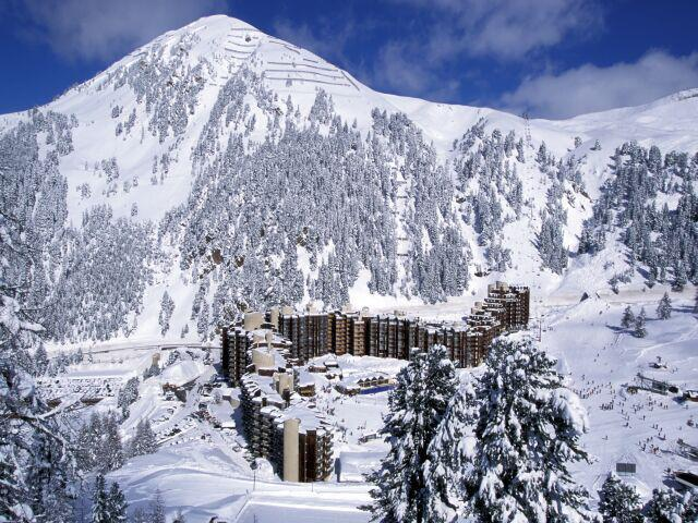 Аренда на лыжном курорте Квартира студия кабина для 4 чел. (14) - Résidence Carroley B - La Plagne