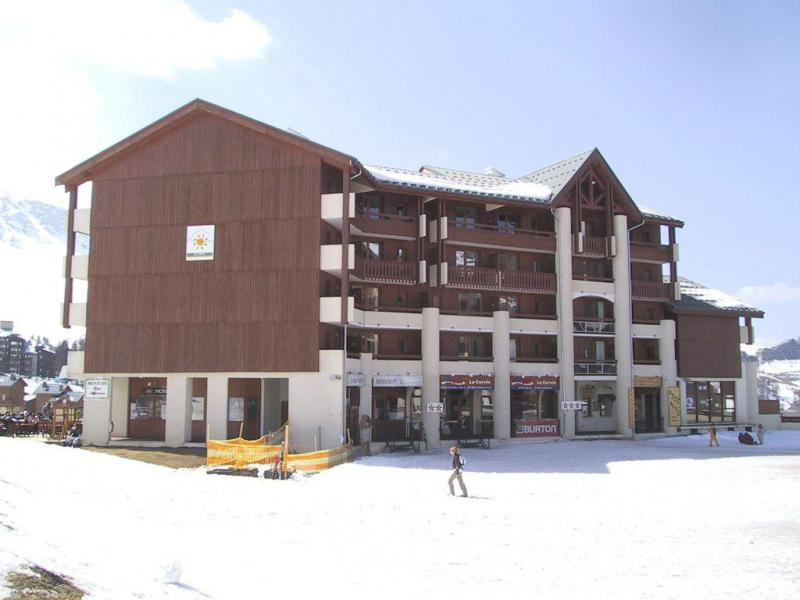 Location au ski Appartement duplex 3 pièces cabine 6 personnes (706) - Résidence Cervin - La Plagne - Extérieur hiver