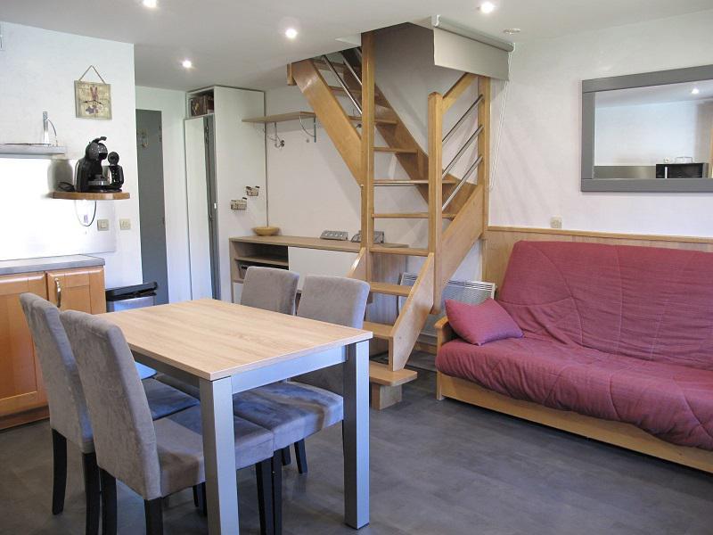 Location au ski Appartement duplex 3 pièces 6 personnes (418) - Résidence Cervin - La Plagne - Séjour