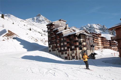 Vacances en montagne Residence Club Mmv Le Centaure - La Plagne - Extérieur hiver