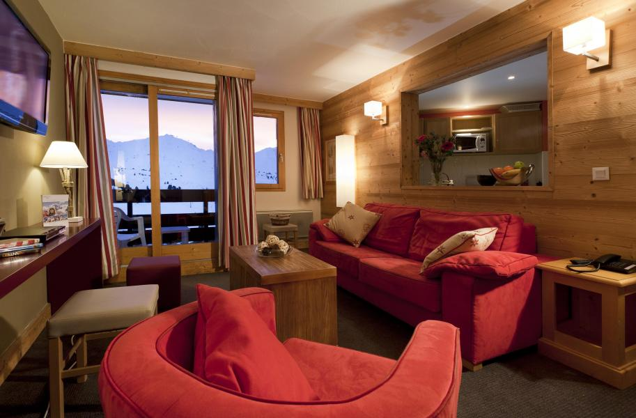 Location au ski Résidence Club MMV le Centaure - La Plagne - Canapé