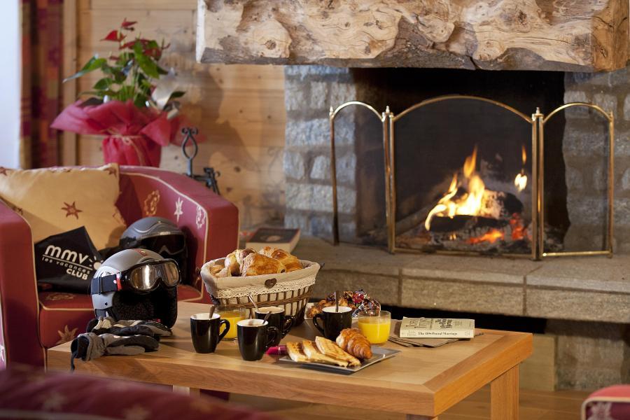 Location au ski Résidence Club MMV le Centaure - La Plagne - Cheminée