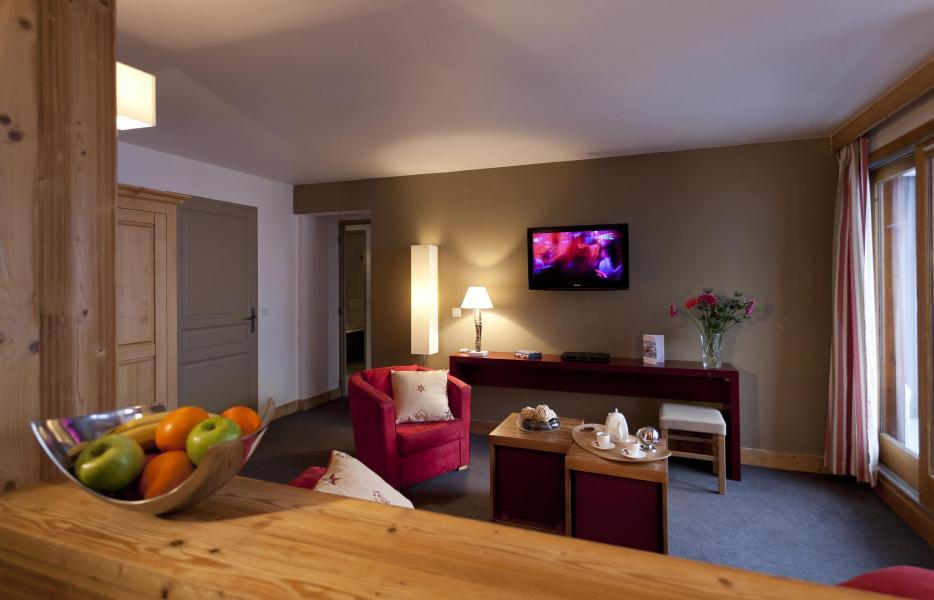 Location au ski Résidence Club MMV le Centaure - La Plagne - Tv à écran plat